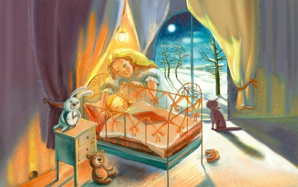 вечерняя сказка в жизни ребенка