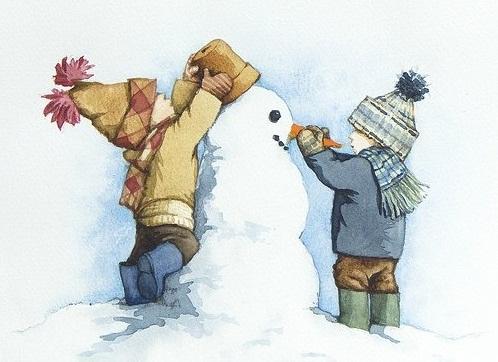 загадки зимние забавы