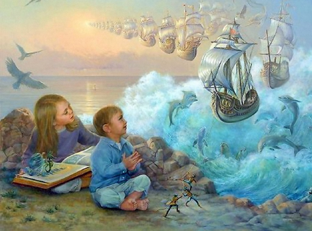 значение сказки - развитие фантазии