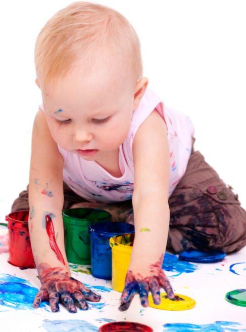 Краски- подарок на 1 год