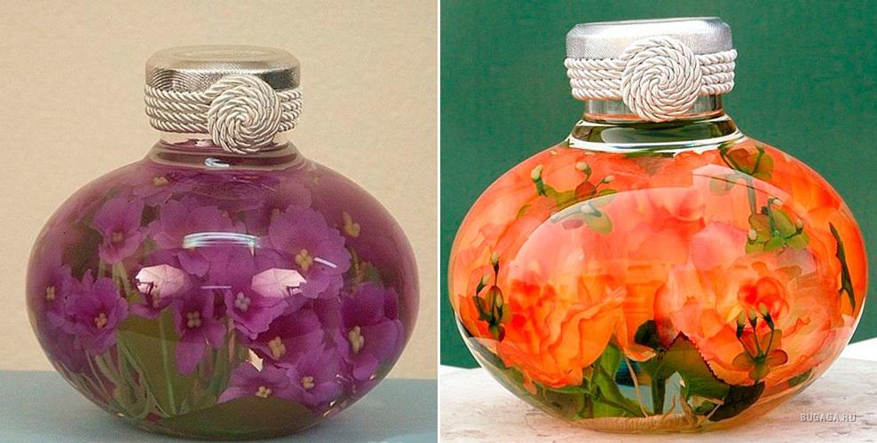 как сохранить цветы и листья в глицерине