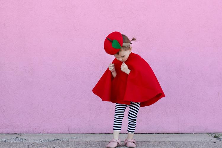 детский костюм яблоко