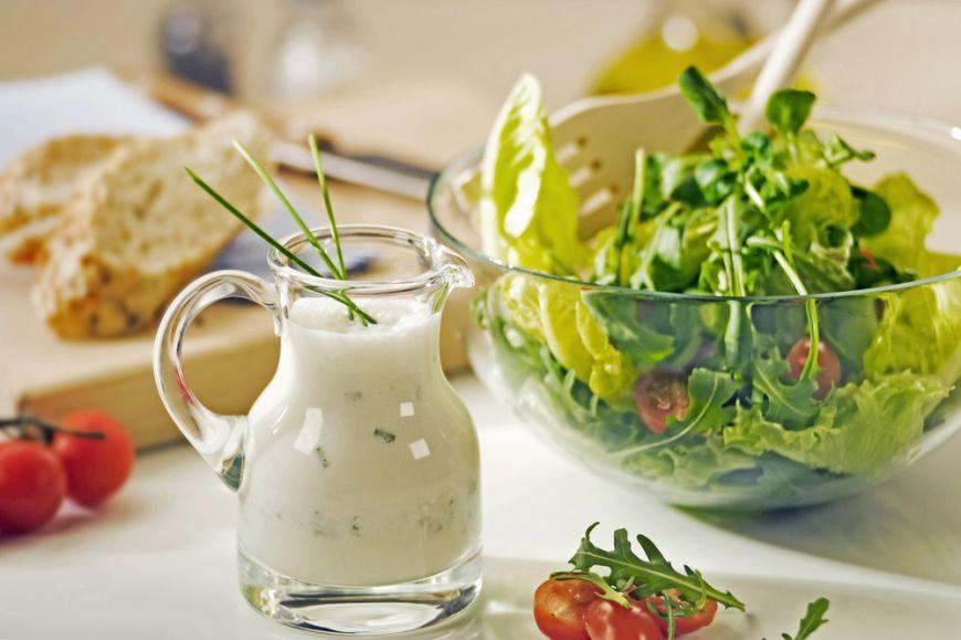 Заправки для салатов в домашних условиях